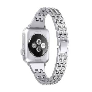 Bracelet Diamond Cristal Femme pour Apple Watch
