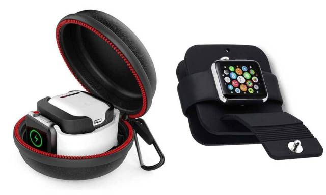 Apple Watch en voyage