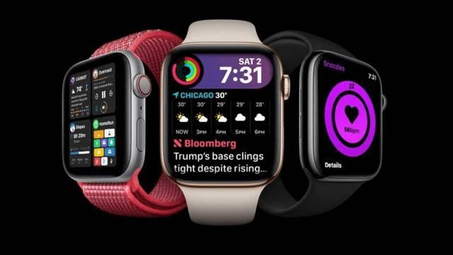 WatchOS 7 seulement compatible avec Apple Watch Series 3 et versions ultérieures
