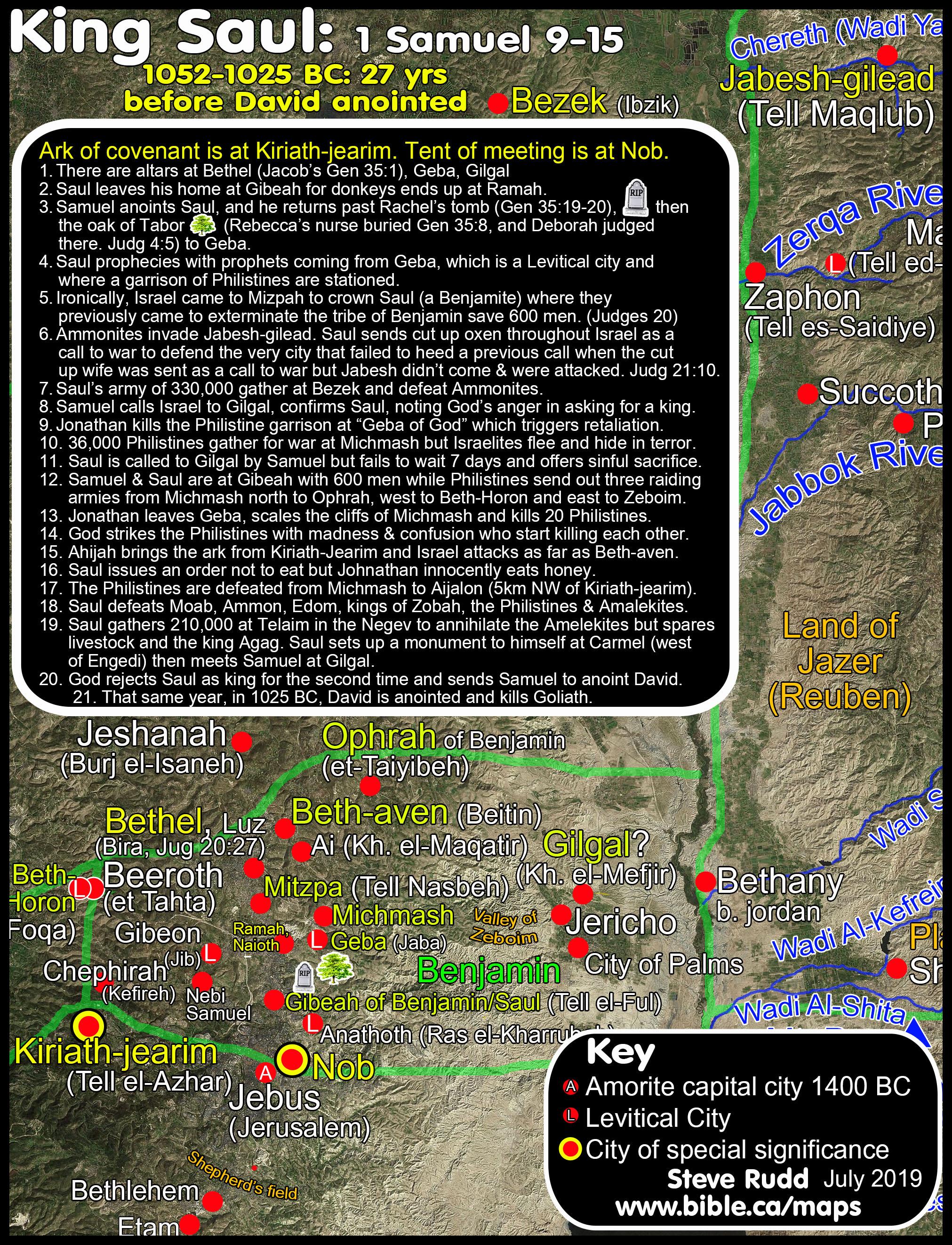 Saul Becomes King Timeline Maps Chronology Sermons Of