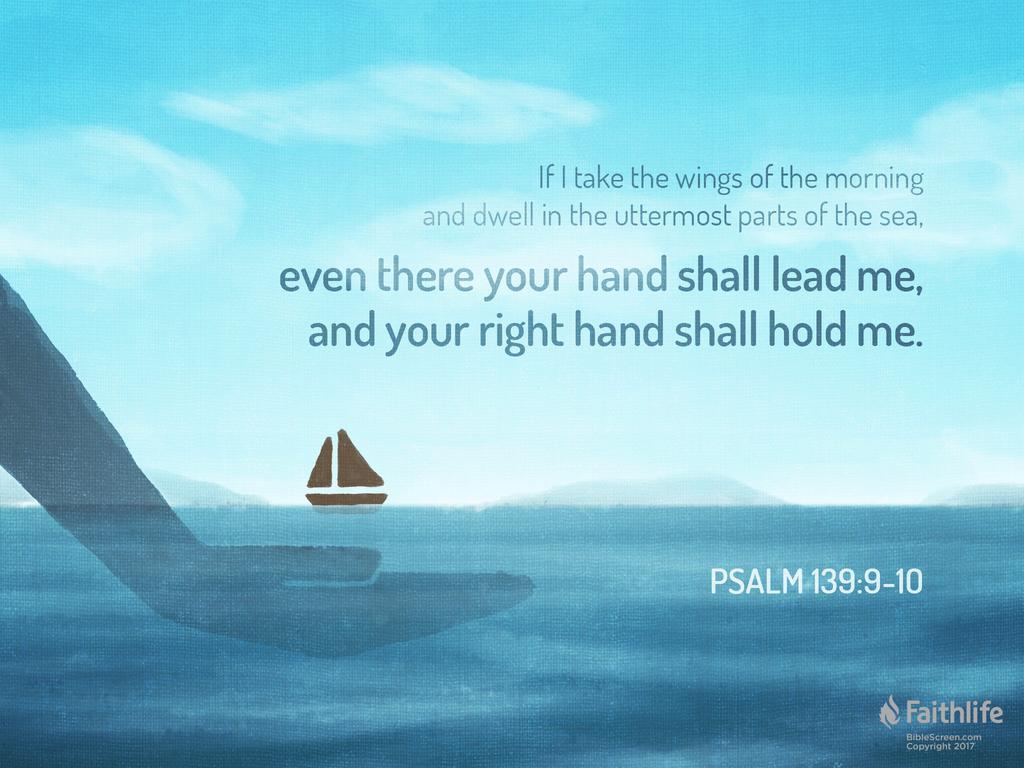 Psalm 139 8–10