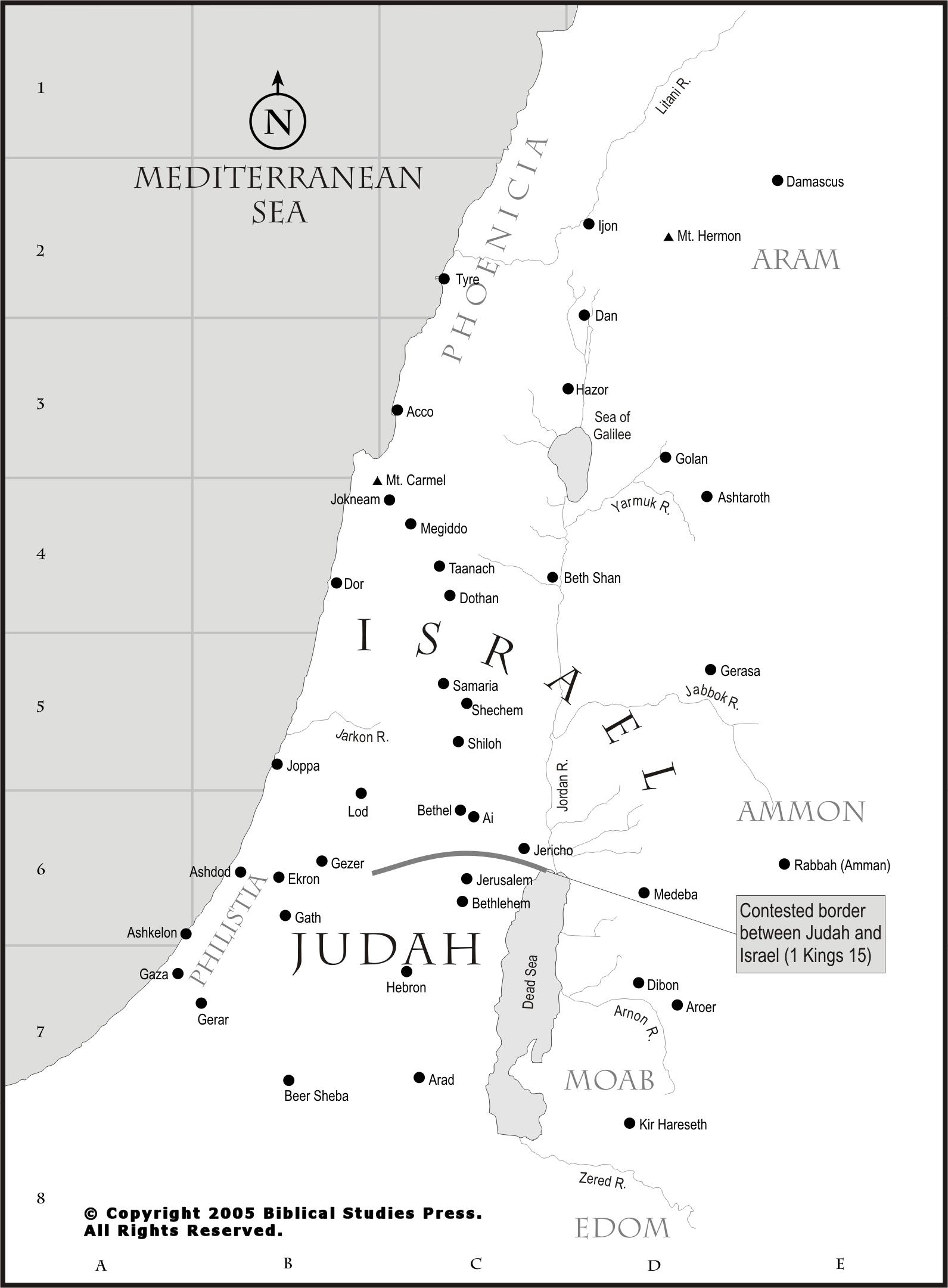 Net Bible Maps