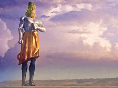 Statue in Daniel