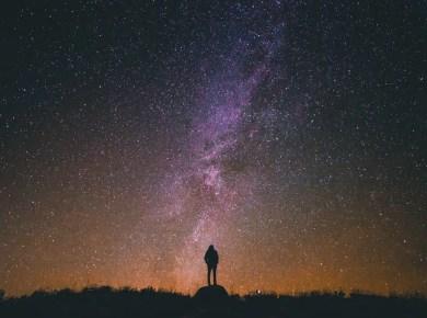 Person Space Stars