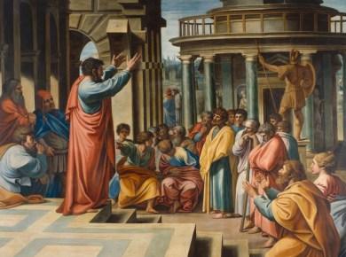 Paul Preaching Sabbath
