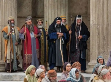 Pharisees and Sadducees