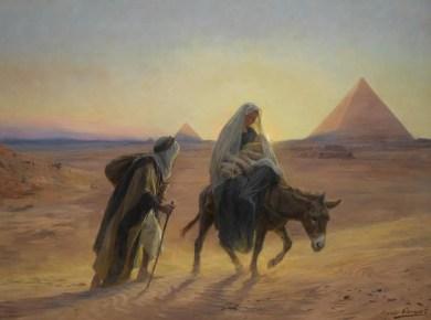 Children of Ramah, Baby Jesus in Egypt