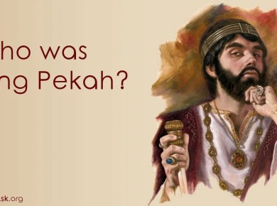 Who was King Pekah