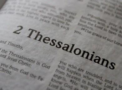 man of sin, 2 Thessalonians