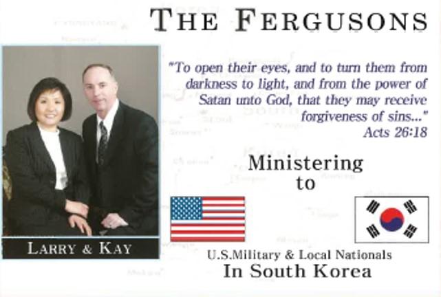 Larry & Kay Ferguson