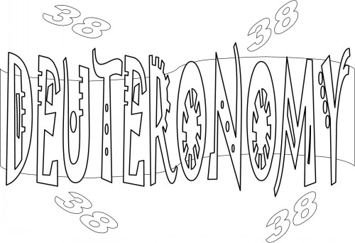 Deuteronomy 6 5 Coloring Page Coloring Pages