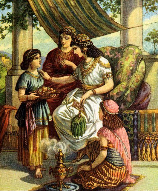 girl_tells_about_the_prophet_elisha