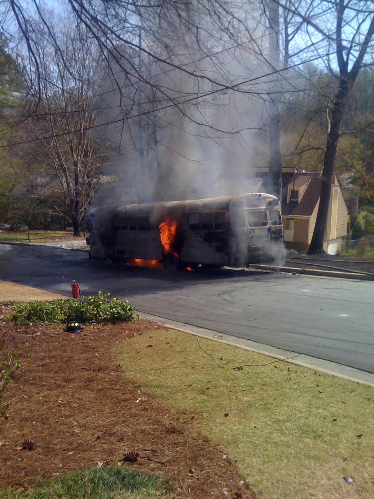 Bus fire 2