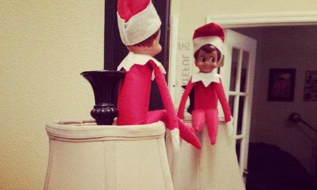 how get #elfontheshelf to preach it!