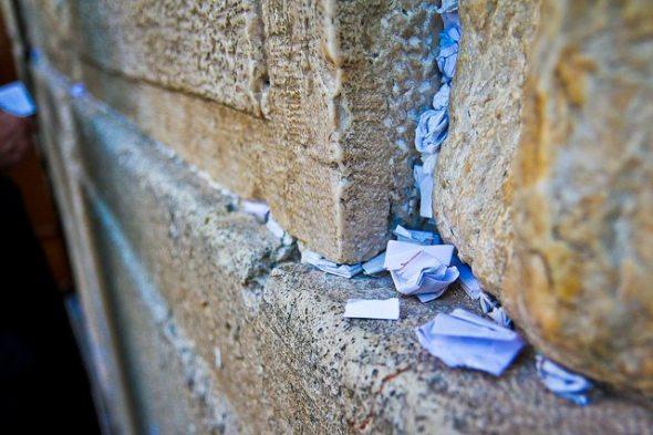 Prayers in the Western Wall, Jerusalem