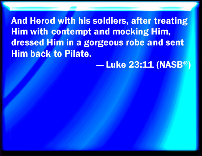 Bible Verse Powerpoint Slides for Luke 2311