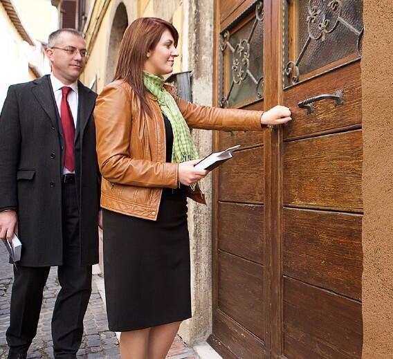 Jehovah Witness Door