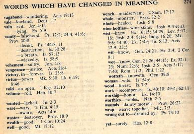 Bible Dictionary Meaning Of Words