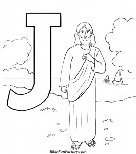 Free Jesus Coloring Pages : Bible Lessons, Games and