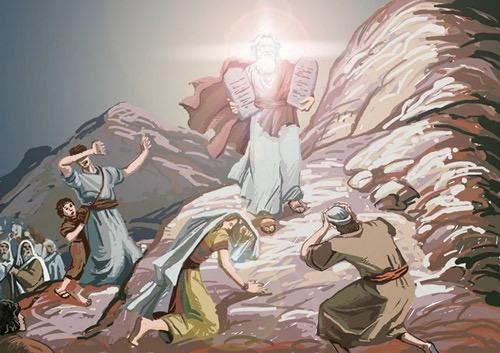第23課 造會幕 – 畫說聖經