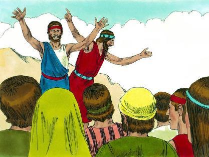 第27課 窺探迦南 – 畫說聖經