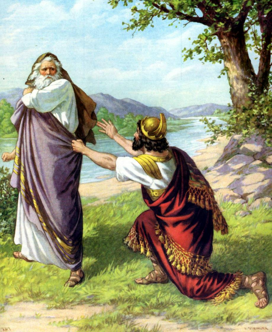 第 44 課 掃羅王被棄 – 畫說聖經