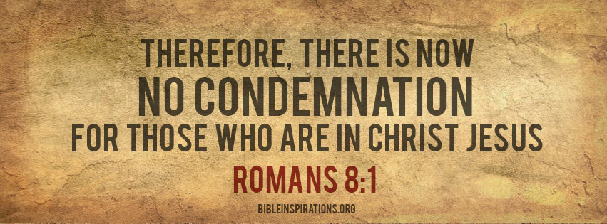 Image result for there is now no condemnation