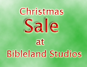 Announcing the Greatest Sale in the History of Bibleland