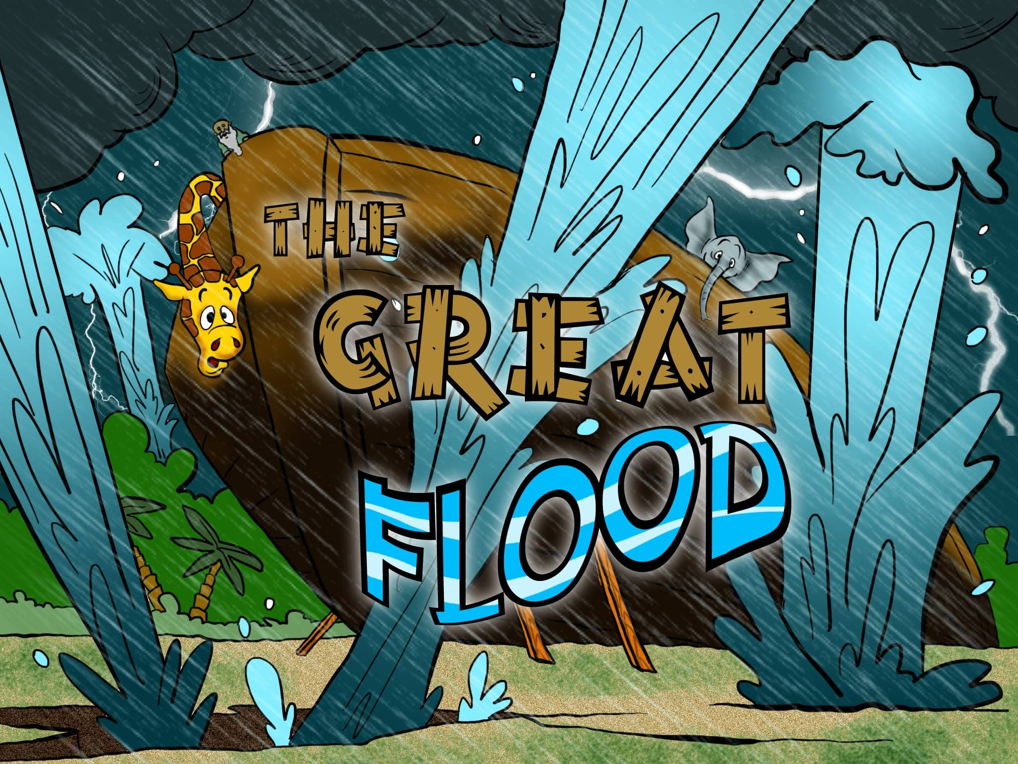 Noah S Ark Bible Story The Great Flood