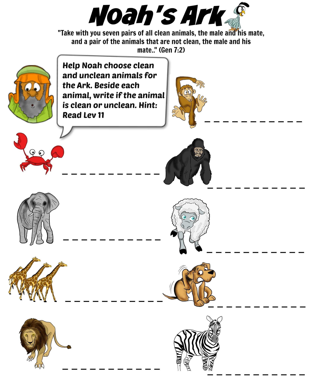 Noah S Ark Puzzle