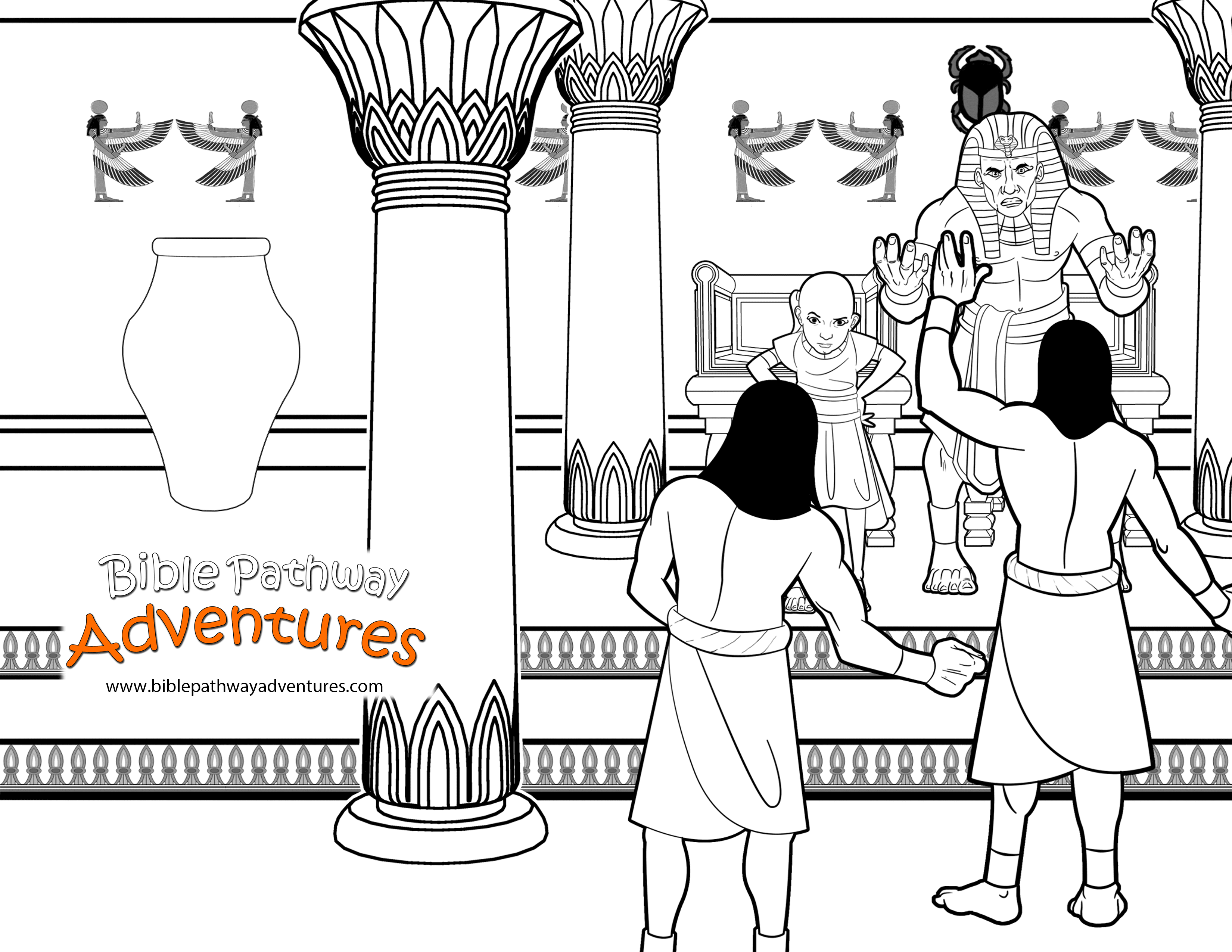 Pharaoh And His Magicians Bible Pathway Adventures