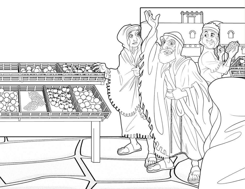 Bible Coloring Page Jonah The Prophet