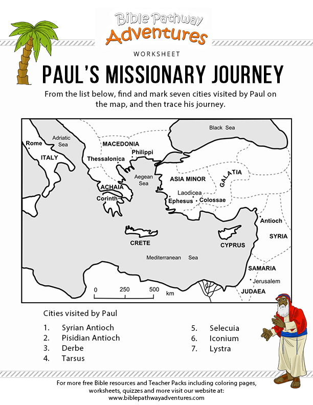 Paul's First Missionary Journey - Study Resources
