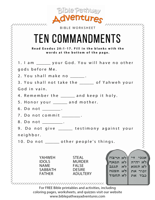 small resolution of Childern Catechism Worksheets   Printable Worksheets and Activities for  Teachers