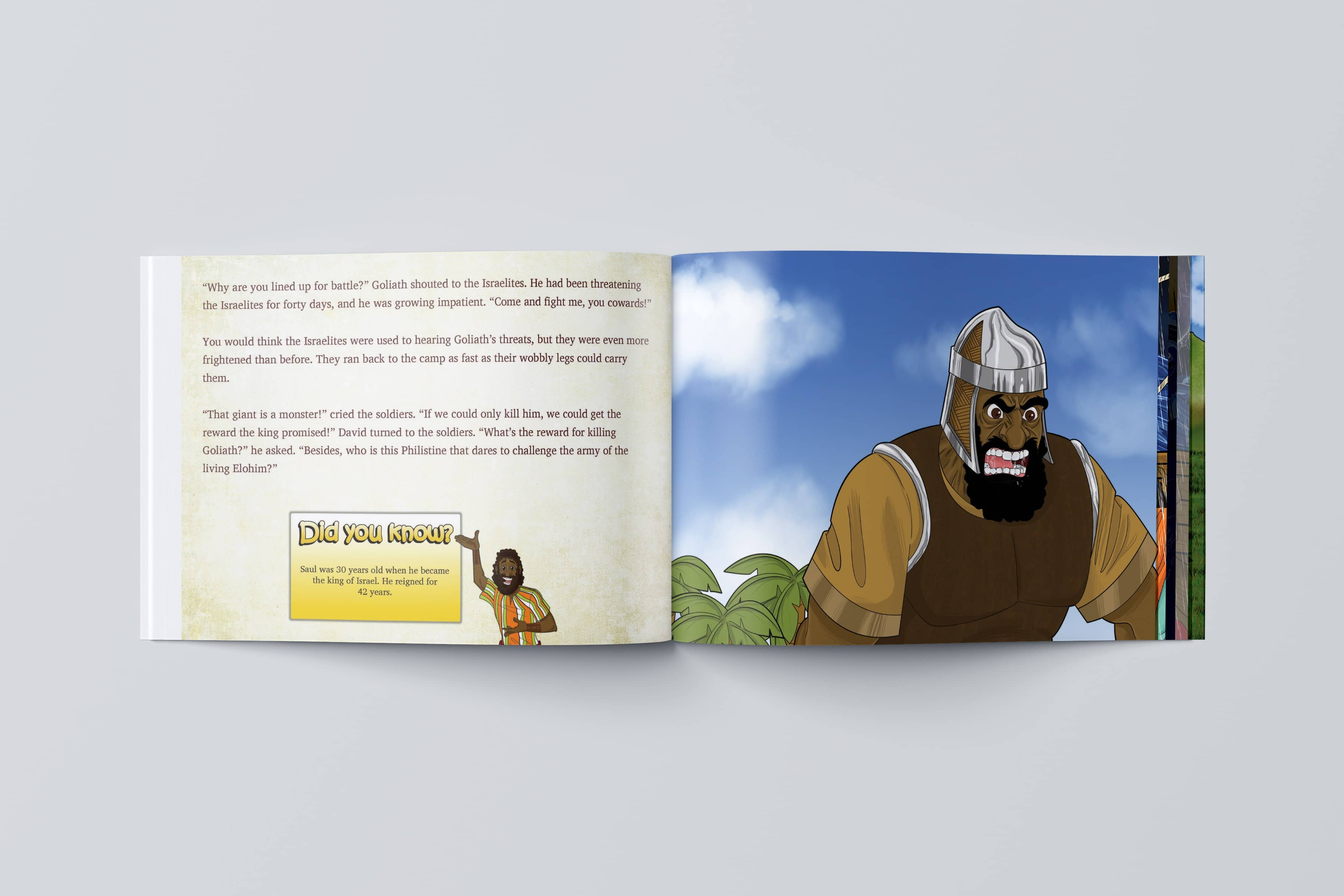 Paperback Book Facing The Giant Bible Pathway Adventures