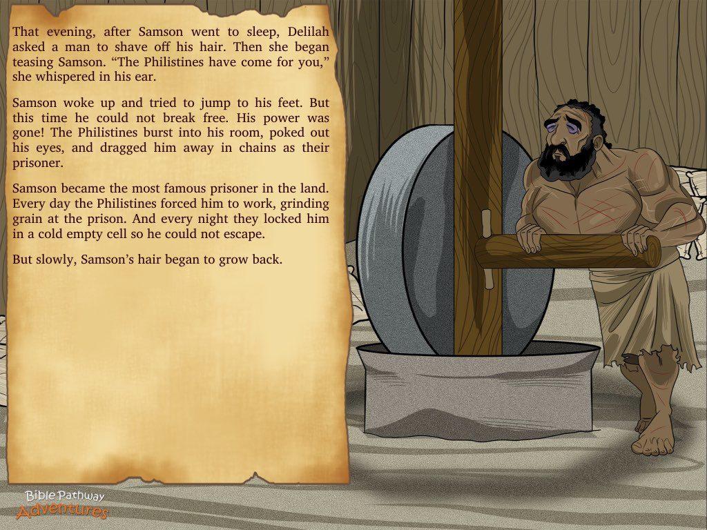 Samson Mighty Warrior Bible Pathway Adventures
