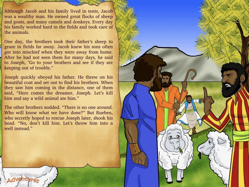 Sold Into Slavery Bible Pathway Adventures