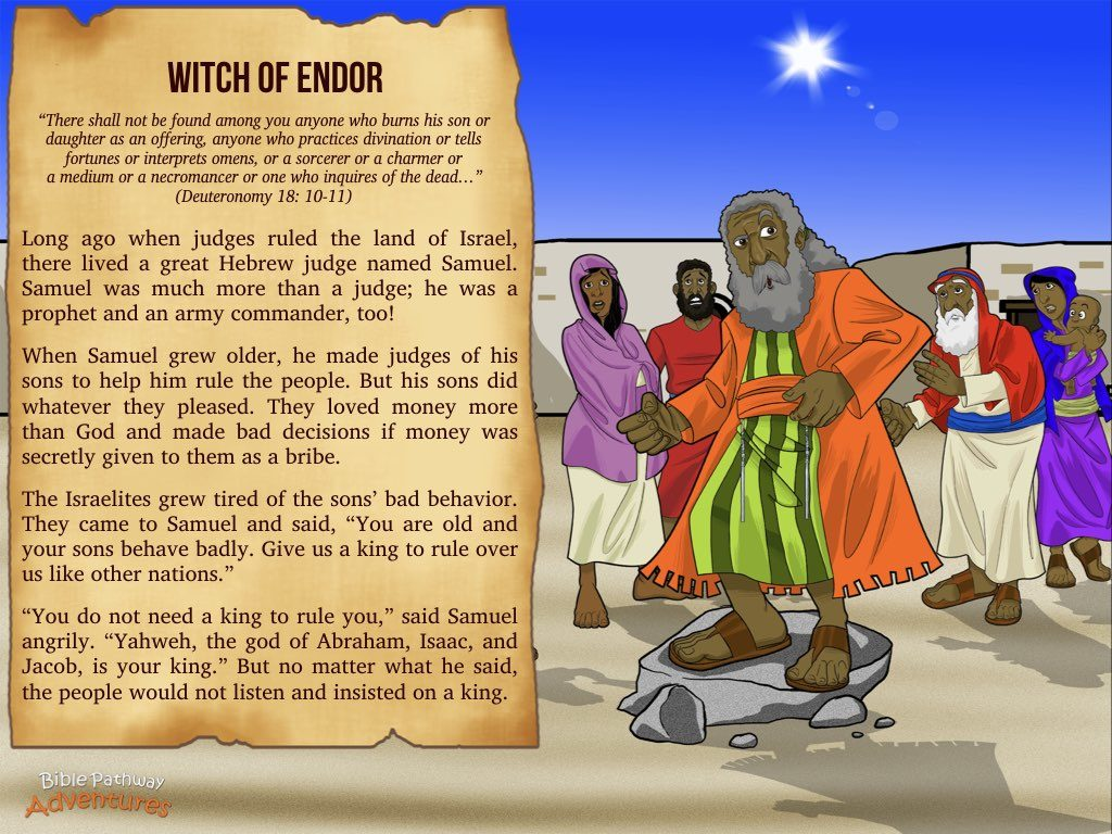Witch Of Endor Bible Pathway Adventures