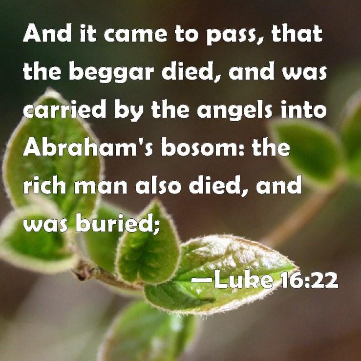 Image result for free photo of Luke 16:22–23
