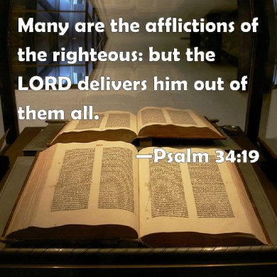 Image result for many are the afflictions of the righteous