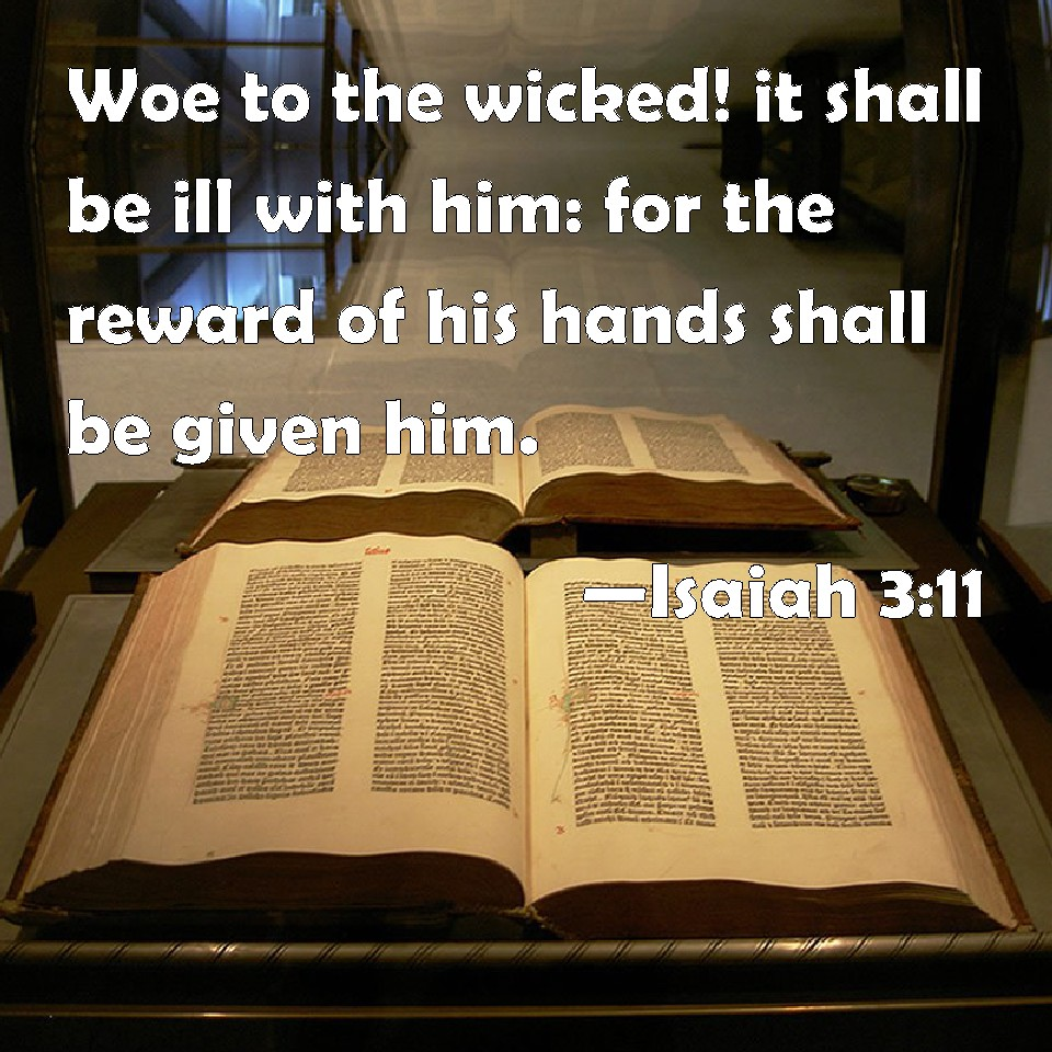 Image result for Woe unto the wicked!