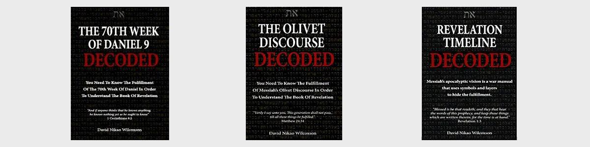Bible Prophecy Decoded Study Books by David Nikao Wilcoxson