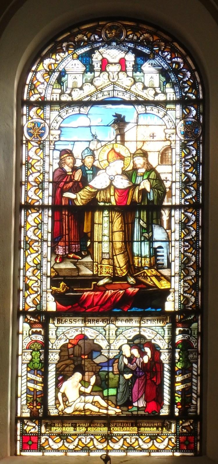 Saint Meinrad Archabbey, Matthew 5:3