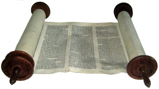 Torah Scroll from Lithuania written in the sixteenth century (© Scrolls4All.org)