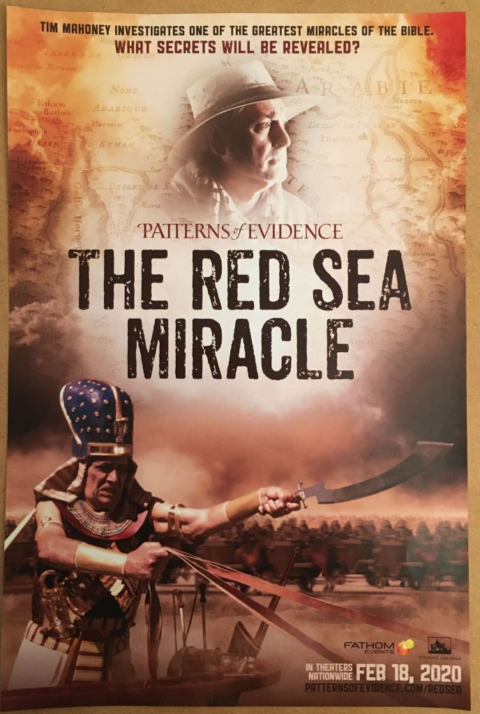 Red Sea Miracle - Poster