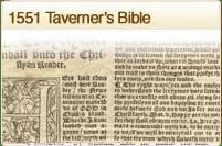 1551 Taverneres Bible
