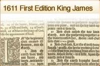 1611 KJV First Edition