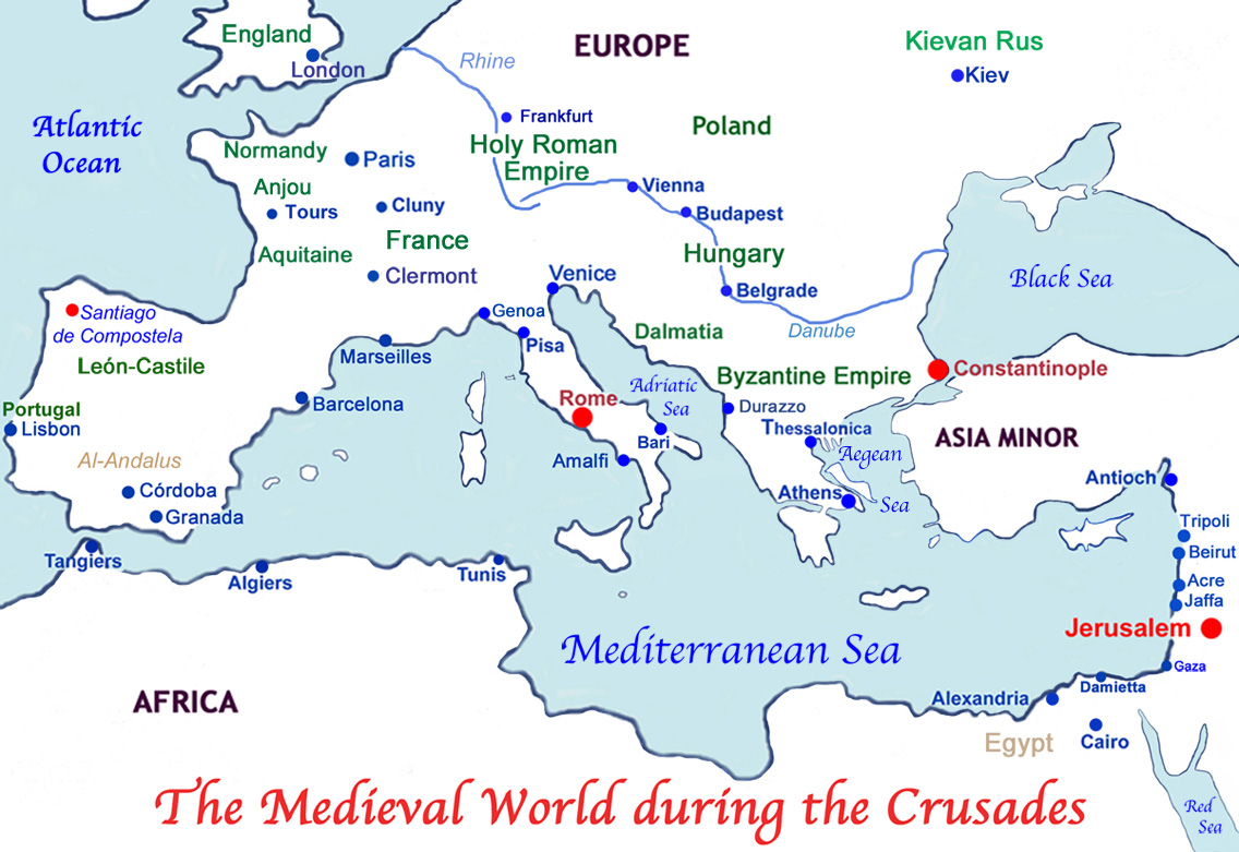 The Crusades To The Holy Land