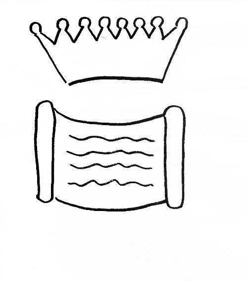 Bible Story Craft for Book of Esther: Esther Becomes Queen