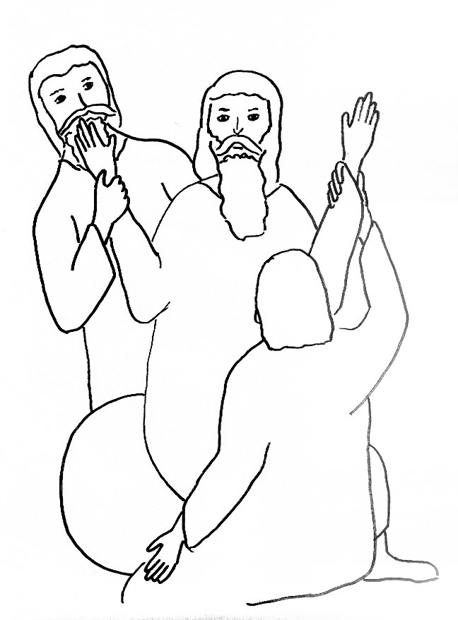 Moses Staff Coloring Page Coloring Pages